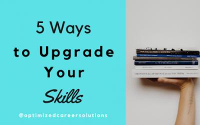 5 Ways to Upgrade Your Skills
